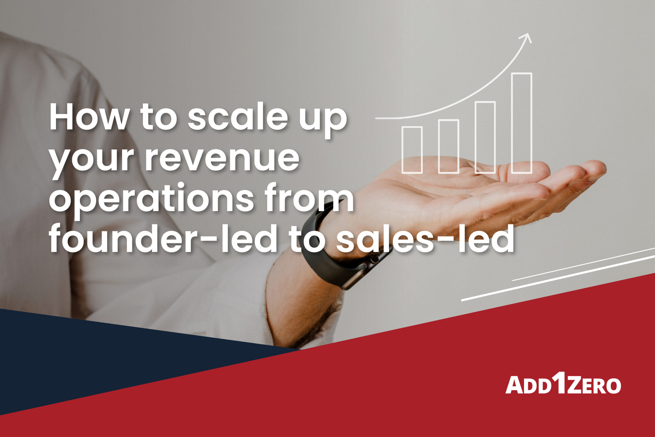 How to scale up your revenue operations from founder-led to sales-led