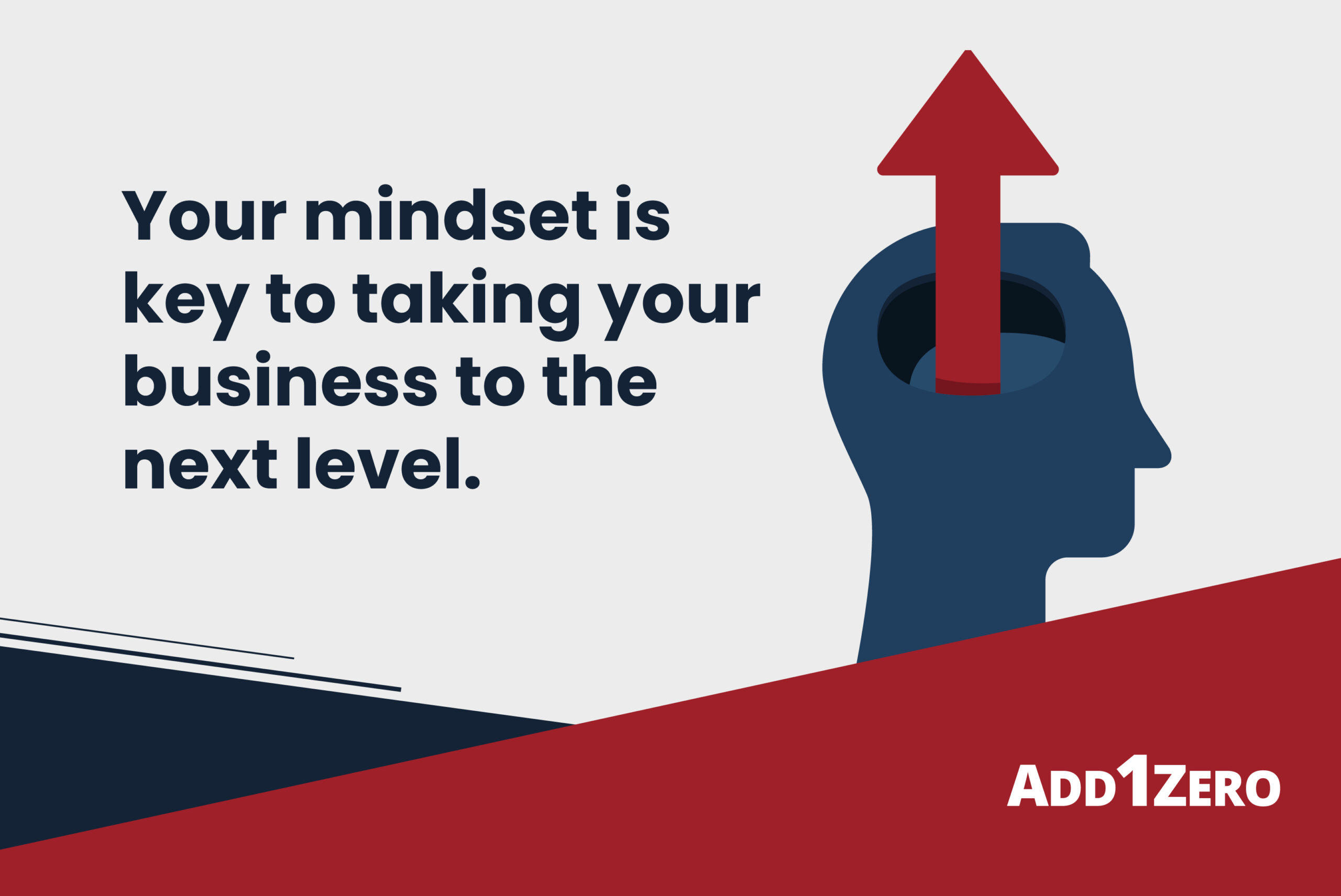 Your mindset is key to taking your business to the next level