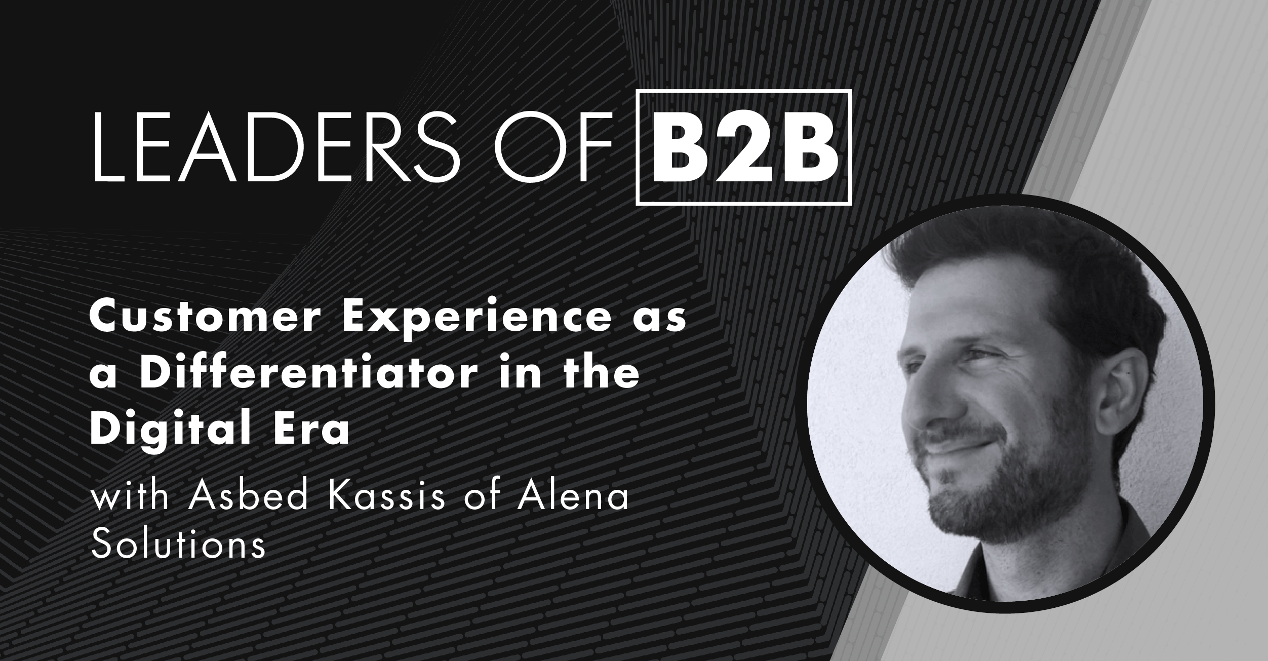 Asbed Kassis of Alena Solutions