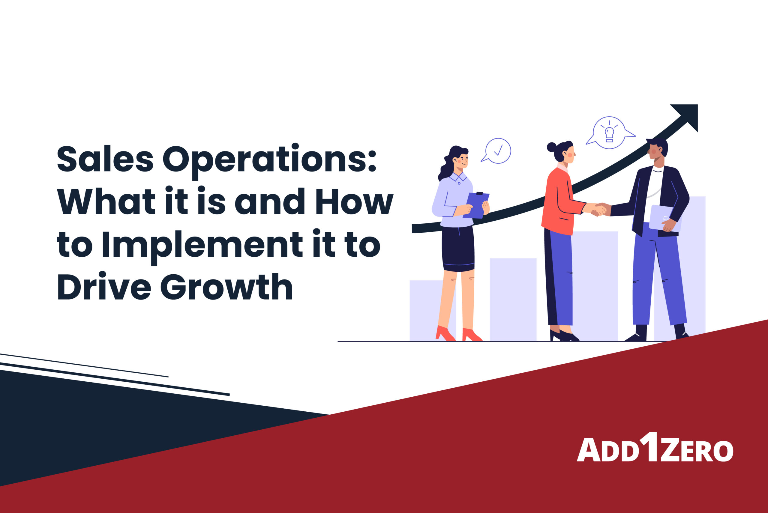 Sales operations: What it is and how to implement it to drive growth